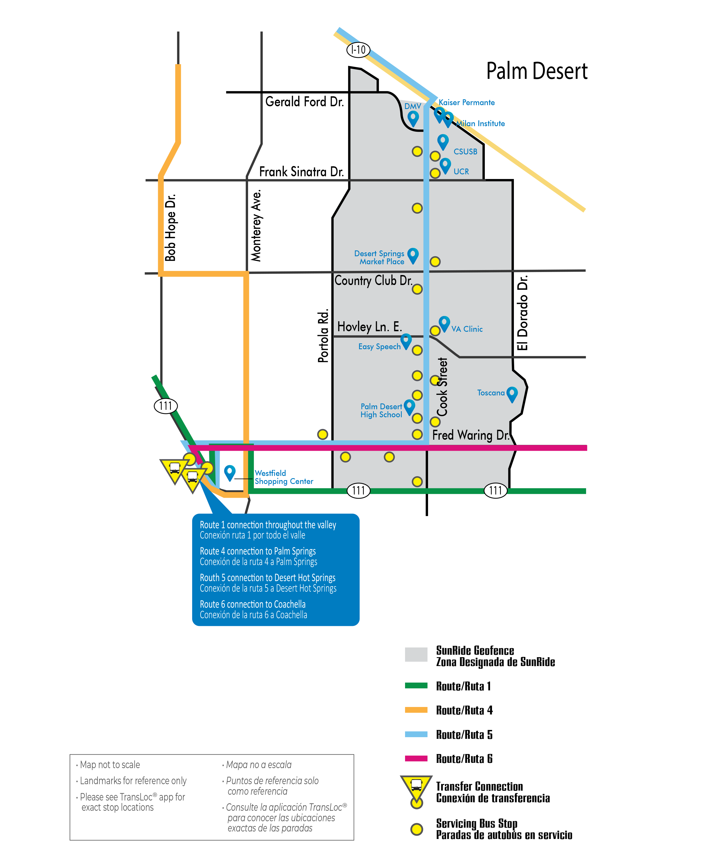 Cook Street Map
