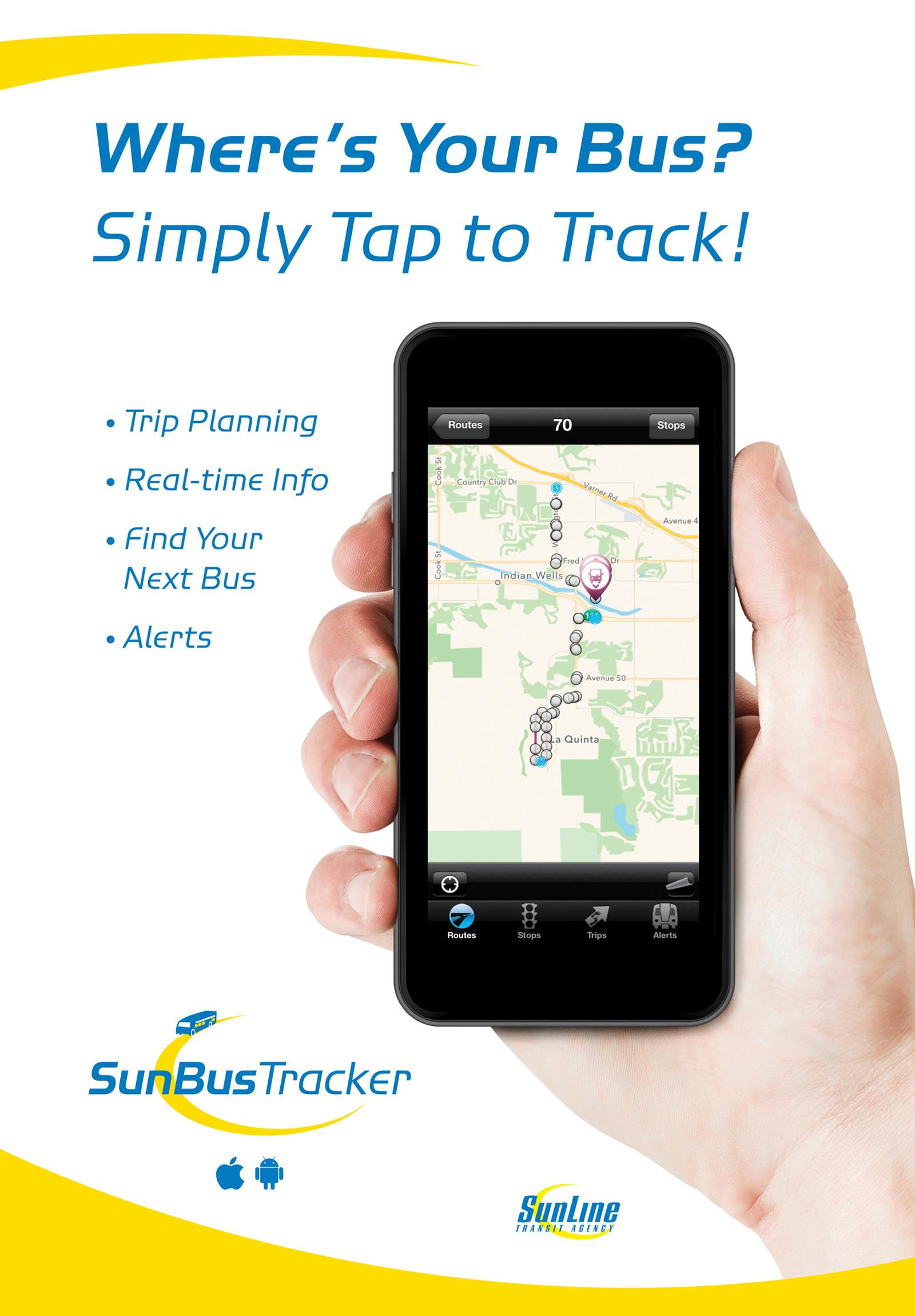 SunBus Tracker Where's My Bus