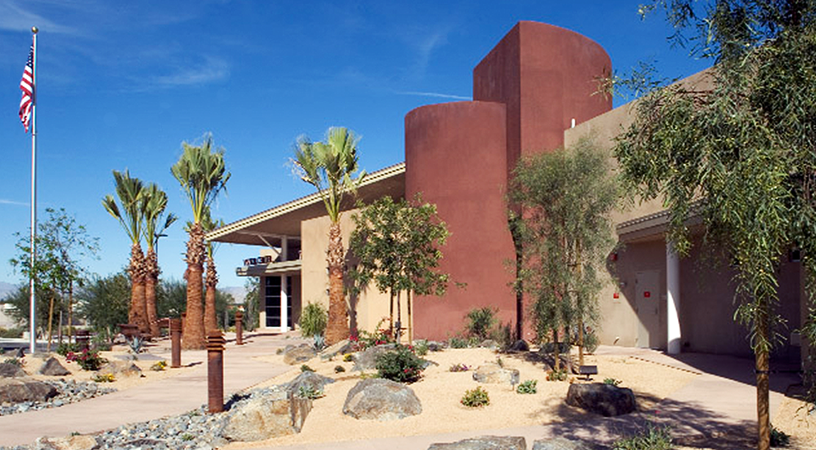Palm Desert Visitor Center on Hwy 111