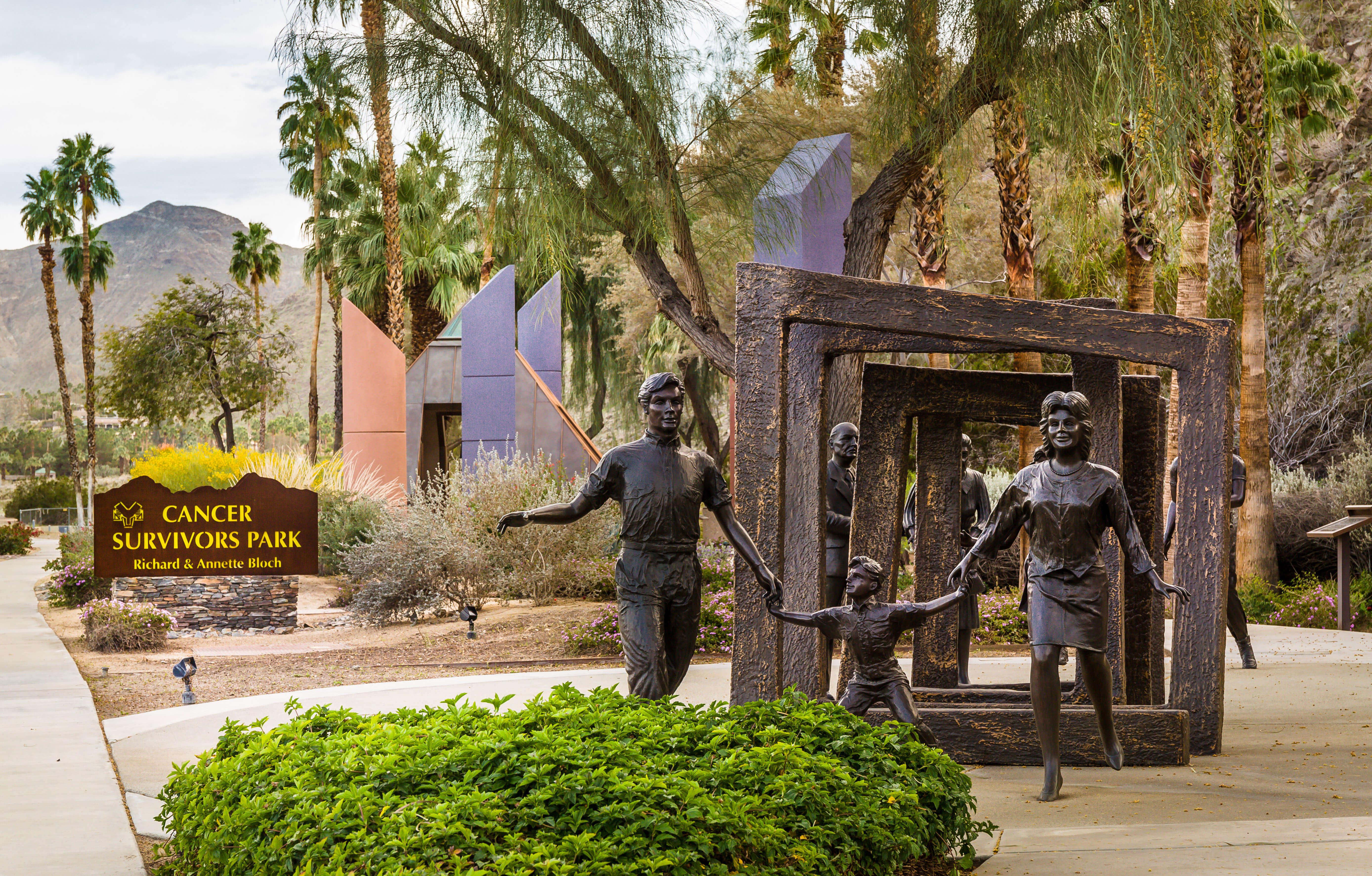 Bloch Cancer Survivors Park - Rancho Mirage