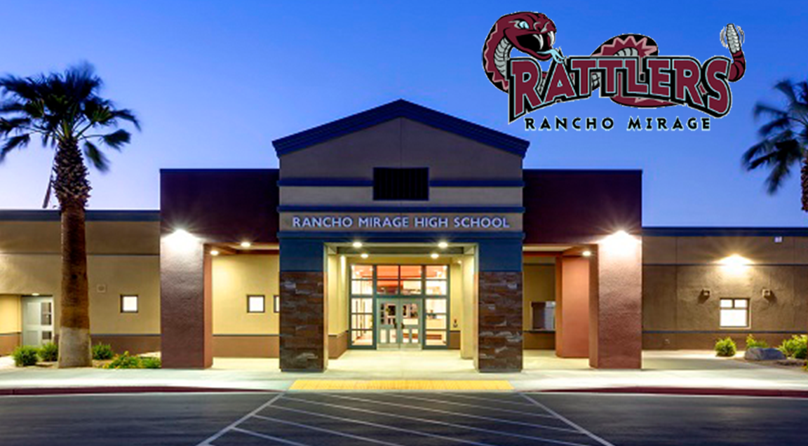 Rancho Mirage High School with Logo