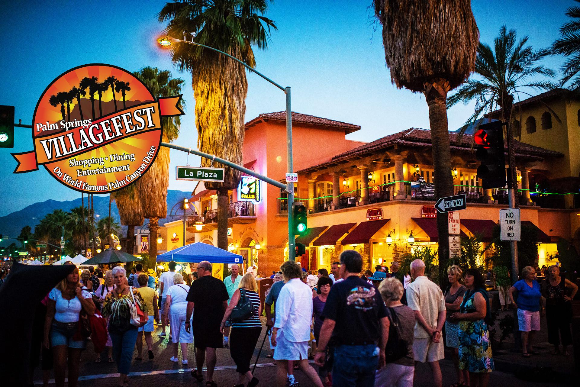 Villagefest Palm Springs, CA • Every Thursday Night