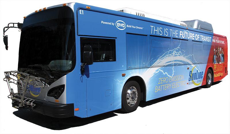 BYD Electric Battery Bus 9th Generation