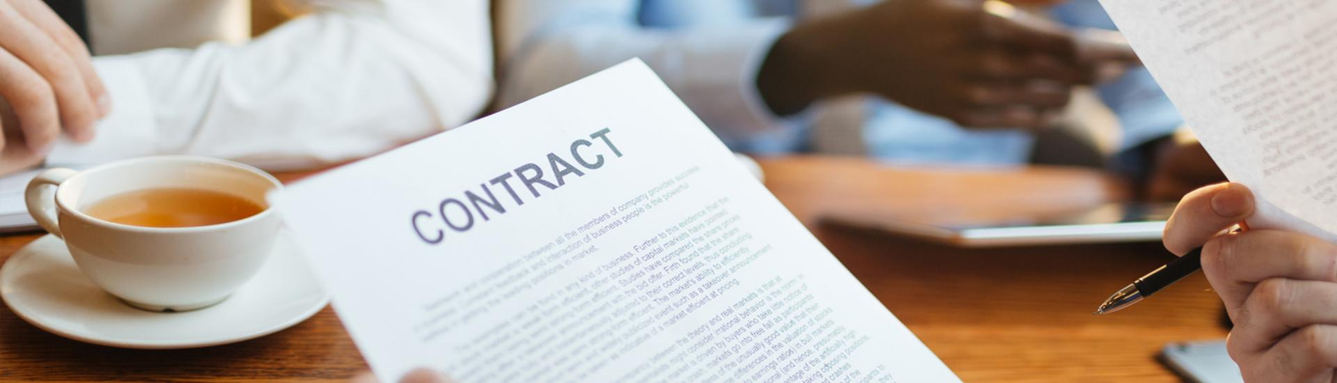 Contracts Banner Image
