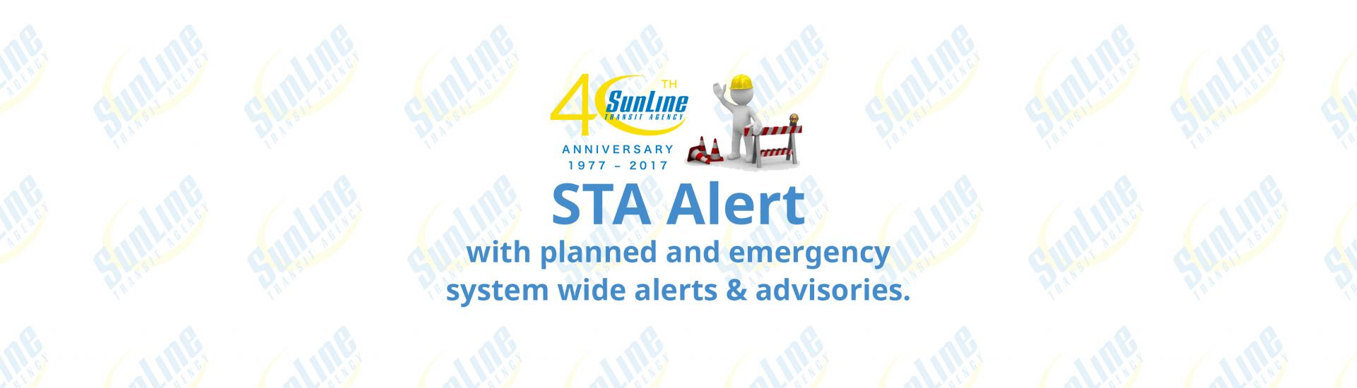 STA Alerts Page