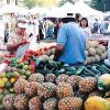 Fresh Produce at Maclin's Open Air Market in Indio